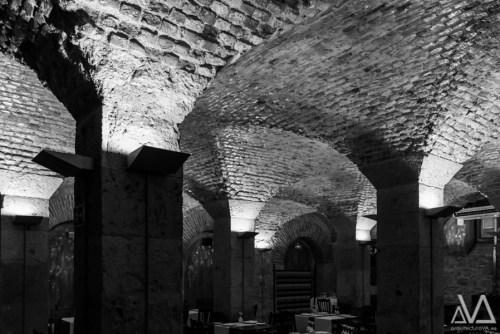 Crujía rehabilitada - Restaurante Arco de Ladrillo