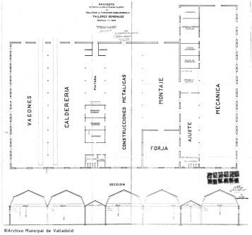 aVA - P - Planta y Seccion - Fundicion Gabilondo