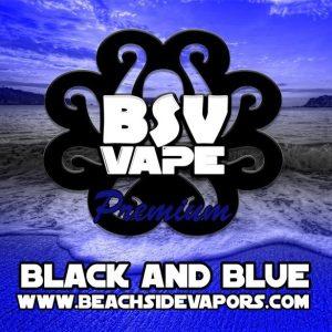 black and blue e liquid