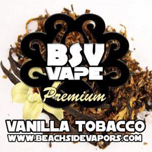 vanilla tobacco e liquid