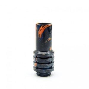 Orange and Black Sniper 810 Drip Tip