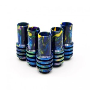 Yellow Purple Blue Sniper Drip Tips