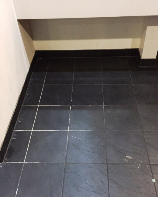 Slate Floor Gents Toilets at Bowling Alley Stripping