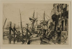 James McNeill Whistler, etching