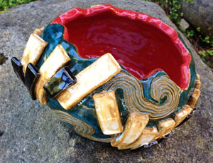 Ana Bucy's ceramic bowl