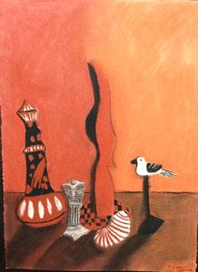Meagan Adams' pastel drawing