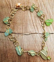 Fiona Morrison's Sea Goddess necklace