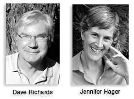 Author Dave Richards and Developmental Editor Jennifer Hager will talk about their author-editor collaboration at the October 21 Fields End event