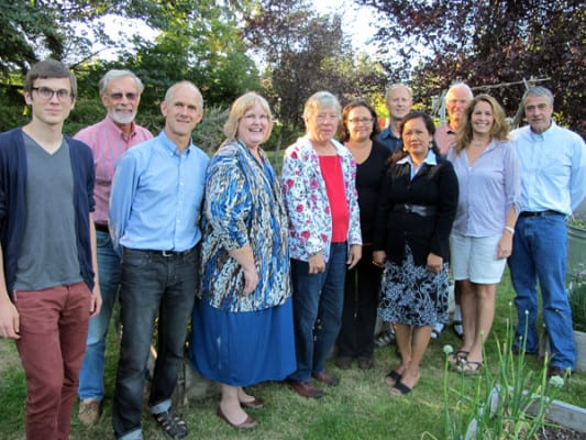 The 2013 board of HRB, including our podcast guest, Charlie Wenzlau (2nd from left). The board includes owner and renter reps, plus community reps.