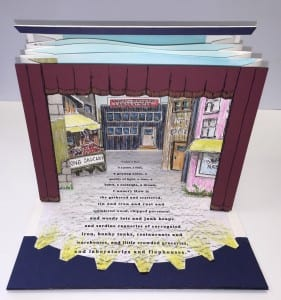 """Cannery Row"": A three-dimensional unfolding artist's book by Susan Callan"