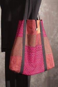 Barbara Weissman, hand-woven handbag