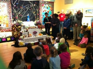 At last year's Day of the Dead at the Art Museum