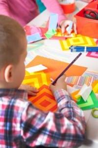 Art in Action is an activity for all ages, and for families to enjoy together