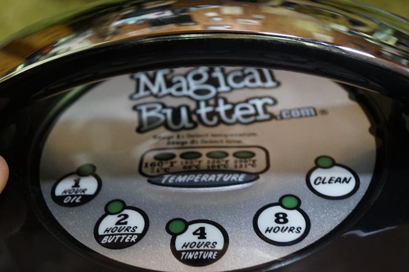 Magical Butter Machine Cannabutter Oil Tinctures Herbs Infuser Extractor Magic