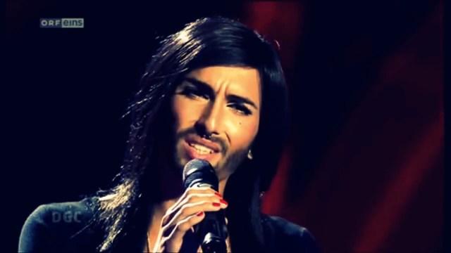 CONCHITA WURST ...the Eurovision Austria 2014...HD # 1