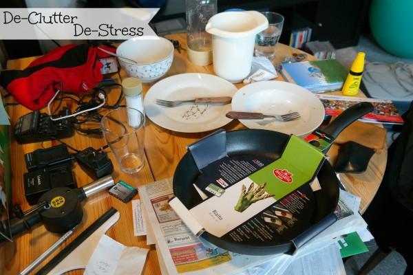 Declutter for a de-cluttered stress free life...