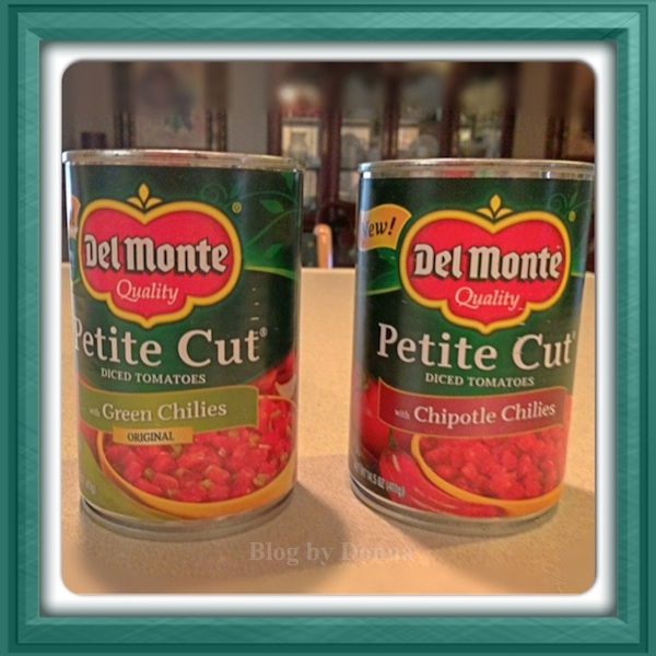 Del Monte Diced Tomatoes with chilies