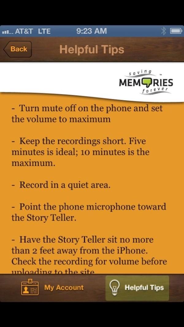 saving memories forever