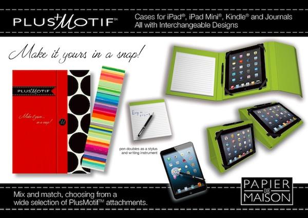 Plus Motif by Papier de Maison tablet covers