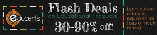 educents flash deals