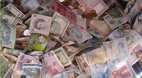 Cash from around the world