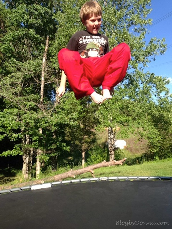 Fun on Trampoline 4