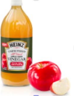 Heinz Unfiltered apple cider vinegar