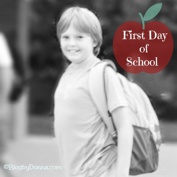 First day of 5th grade...
