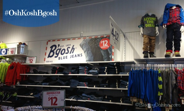 Holiday Shopping at OshKosh B'gosh 2