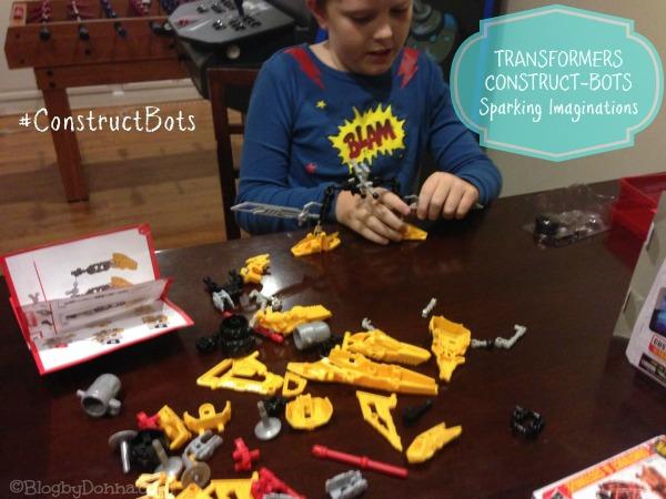 Transformers Construct-Bots #ConstructBots