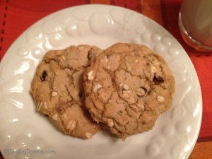 Oatmeal Raisin Cookies with Star Butter flavored Olive Oil
