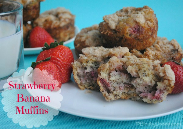 strawberry muffin recipe