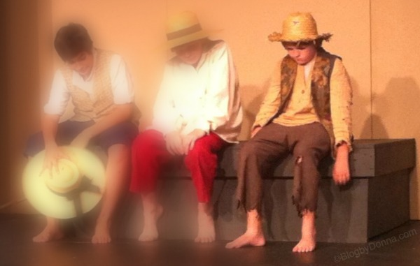 "Huck Finn in ""The Adventures of Tom Sawyer"" at Knoxville Children's Theatre"