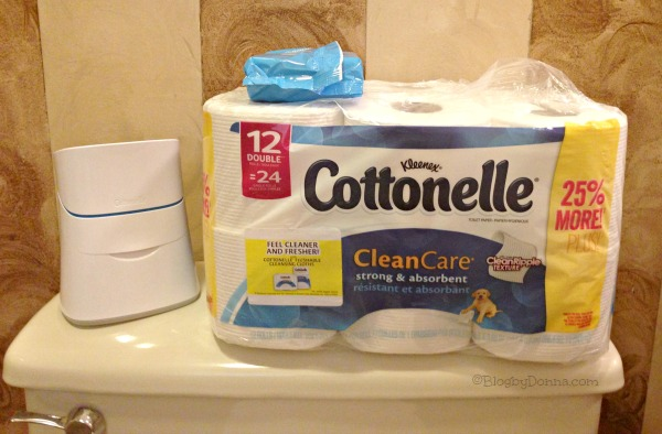 Cottonelle CleanCare Routine Flushable Wipes 1