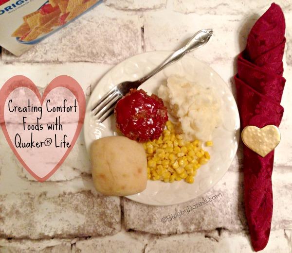 Meatloaf Muffins Comfort Food 1 #QuakerUp #LoveMyCereal #cbias