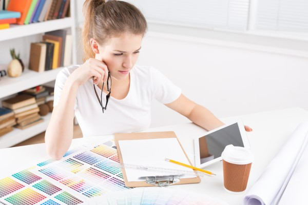 graphic designer, graphic artist working from home