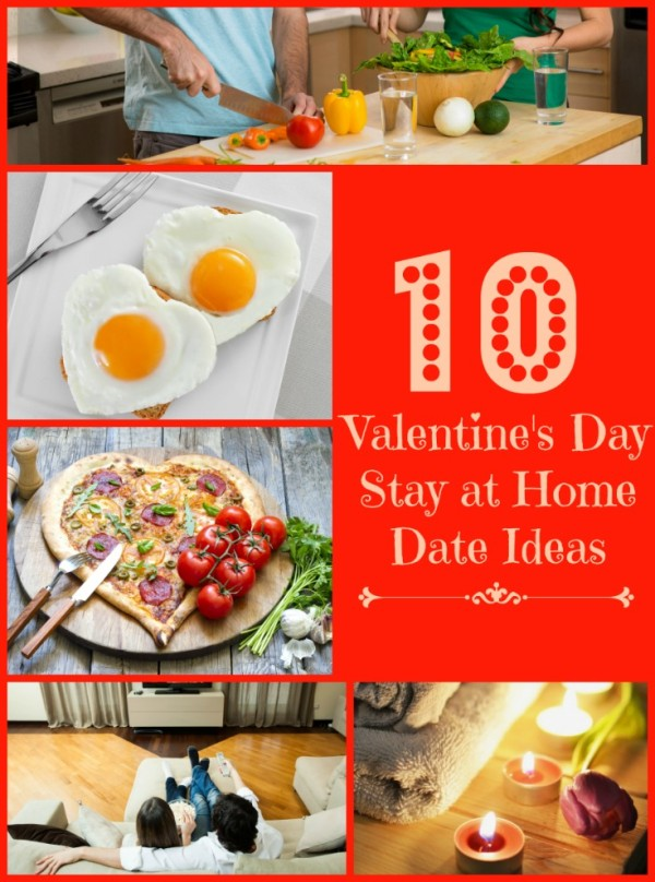 Valentine's Day stay at home date ideas