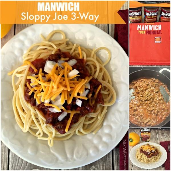 Manwich Sloppy Joe 3-Way Make it a #ManwichMonday with Manwich #NationalSloppyJoeDay