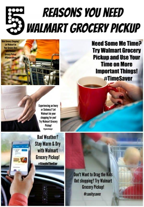 5 Reasons You NEED Walmart Grocery Pickup #groceryhero #gamechanger