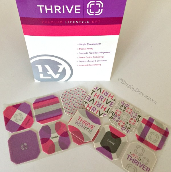 healthy lifestyle with THRIVE experience THRIVE DFT patch