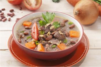 Sup Ayam Kacang Merah Yang Sangat Nikmat