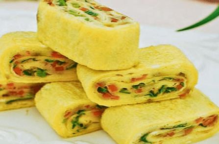 , Resep Membuat Telur Dadar Gulung Vegetables Yang Sangat Menyehatkan