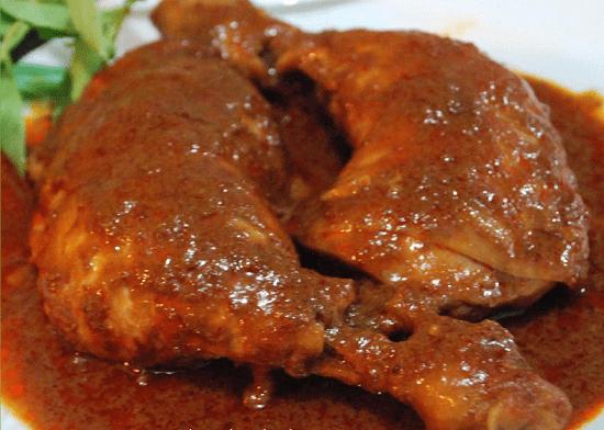 ayam bakar bumbu kacang