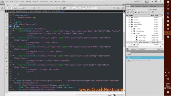 Adobe Dreamweaver Cc 2015 Crack Plus Serial Number Full Download