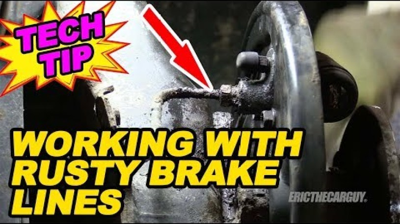 How To Deal With Rusty Brake Lines