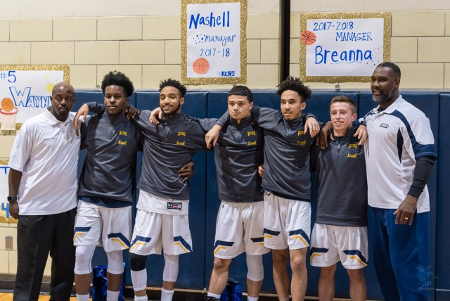 Photography by SG Atkinson: KCHS Boys Basketball Seniors