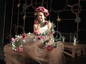 Zuzu Kusmider as The Rose (photo credit- Ray Candella)
