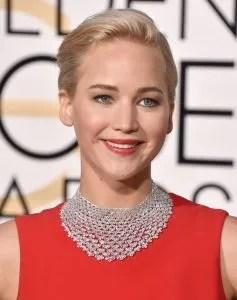 Jennifer Lawrence 2016 dior Golden Globe Beauty and Fashion