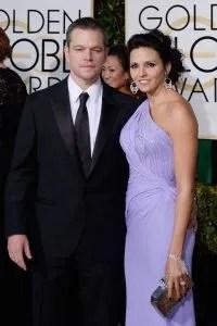 Matt Damon and Matrix StyleLink - Golden Globe Beauty and Fashion