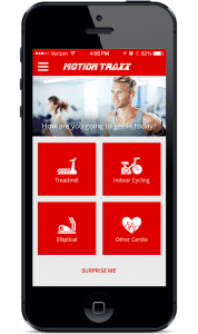 Deekron combined his passions for fitness and music to launch a fitness app, that's based in New York City but available globally, called Motion Traxx. The app helps people stay motivated during their workouts.